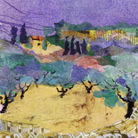Paysage Provence Oliviers